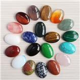 Cabochon Gemstones Celebrated (mm size)
