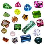 Cut Gemstones Celebrated (mm size)