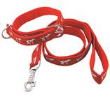 Dog Tape Lead Collar Set