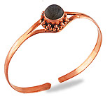 Copper Gemstone Bangles