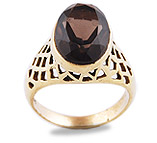 Bronze Gemstone Rings