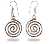 German Silver Plain Earrings