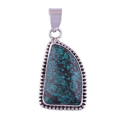 11.5gram Turquoise Silver Pendants