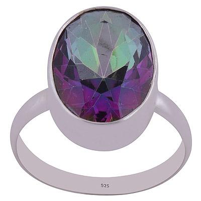 3gram Mystic Topaz Silver Rings