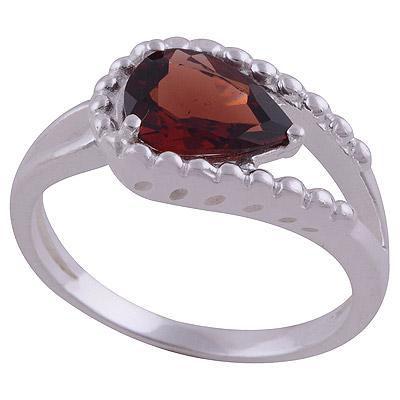 4gram Garnet Silver Rings