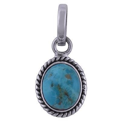 2.5gram Arizona Turquoise Silver Pendants