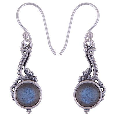 3.7gram Labradorite Silver Earrings
