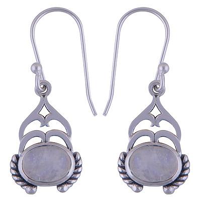 4gram Rainbow Silver Earrings