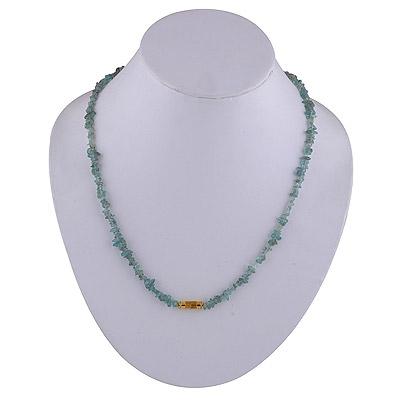 13gram Apatite Silver Necklaces
