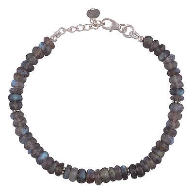 10.1gram Labradorite Silver Bracelets