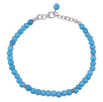 5.8gram Turquoise Silver Bracelets