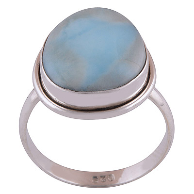 5gram Larimar Silver Rings