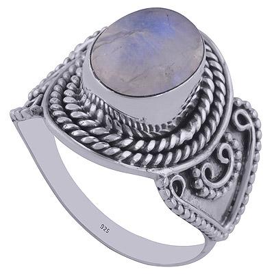 4.8gram Rainbow Silver Rings