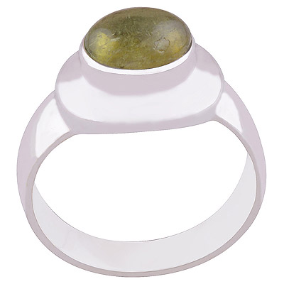 5.2gram Tourmaline Silver Rings