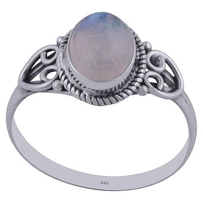 2.1gram Rainbow Silver Rings