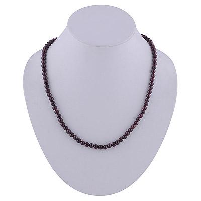 22.2gram Garnet Silver Necklaces