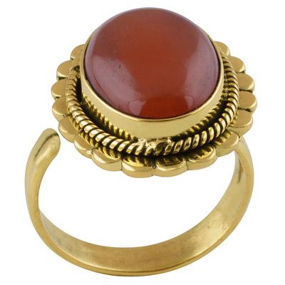 7.6gram Carnelian Fashion Rings