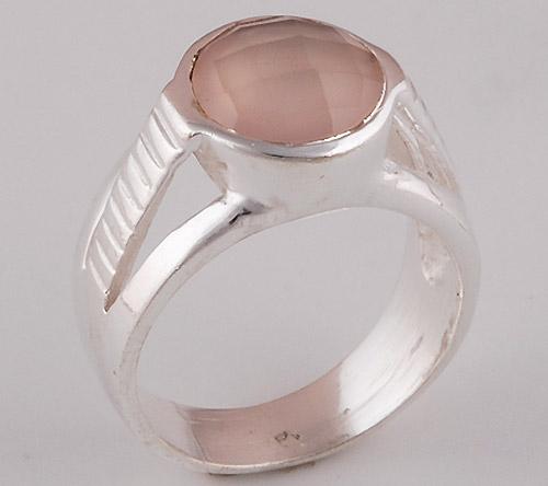 6.1gram Rose Quartz Fashion Rings