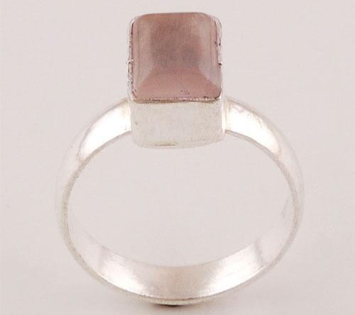 2.3gram Rose Quartz Fashion Rings