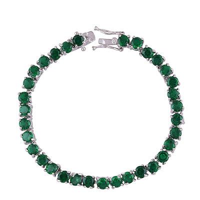 12.1gram Green Cubic Zirconia Fashion Bracelets