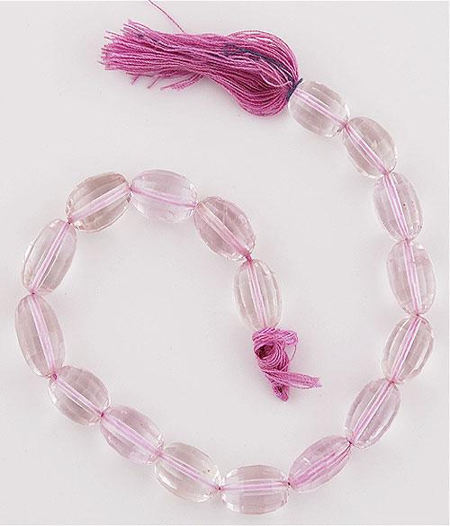 19.8gram Pink Amethyst Gemstone Beads